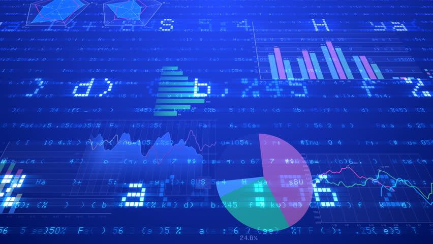 Business data graph digital world space number text. | Shutterstock HD Video #27086371