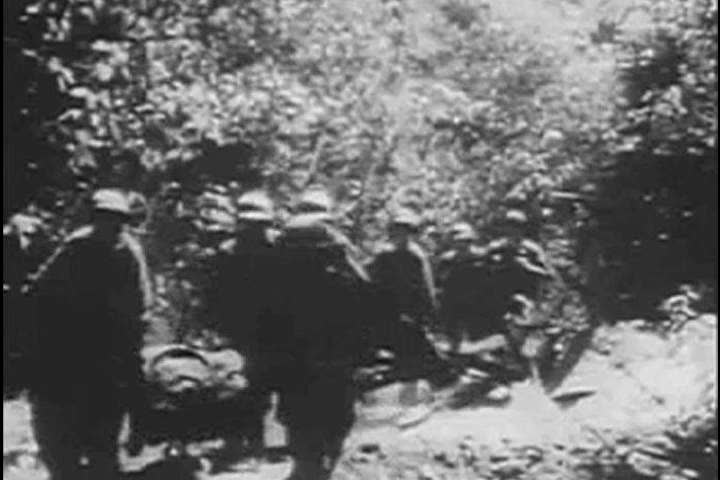 1940s: Wounded Soldiers in Burma Stock Footage Video (100% Royalty-free)  27109063 | Shutterstock