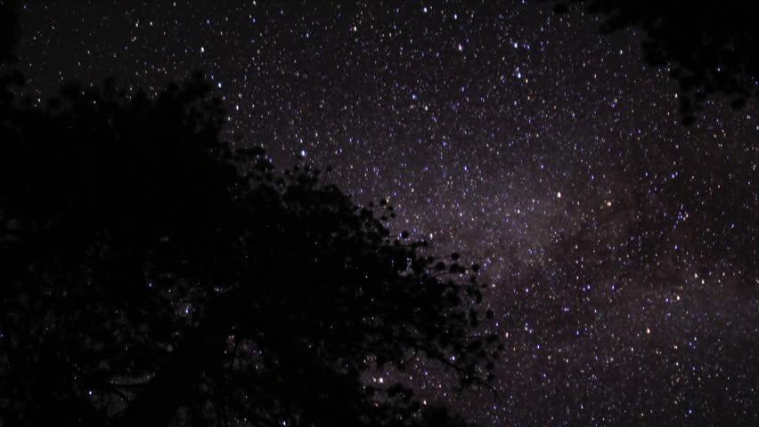 Lassen Timelapse Astrophoto 02 Milky Way TD | Shutterstock HD Video #2750411