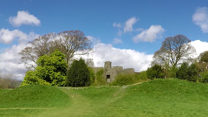 Kendal Castle, UK, England