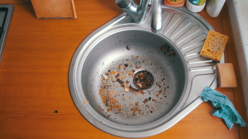 Kitchen Sink Clogged With Food Wow Blog