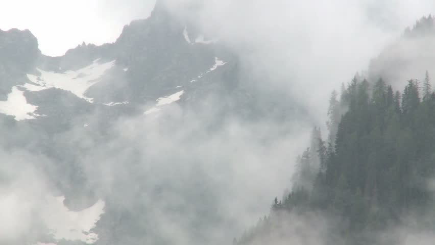 Rain on mountains | Shutterstock HD Video #2769383