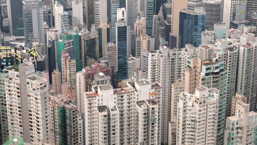 The peak, Hong Kong, 28 May 2017 -: Hong Kong skyscraper | Shutterstock HD Video #27791878