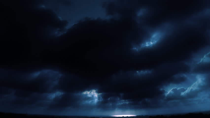 Time Lapse Sunset Clouds Blue Loop | Shutterstock HD Video #278563