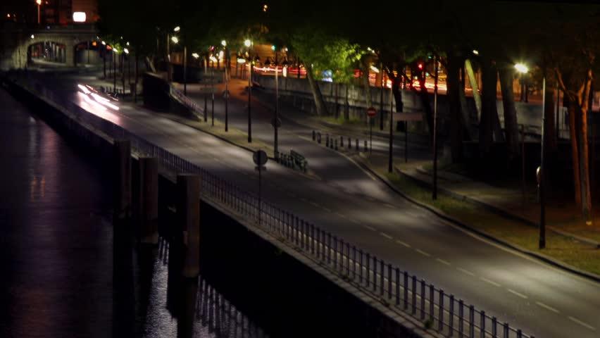 Road near a river time lapse | Shutterstock HD Video #2800033