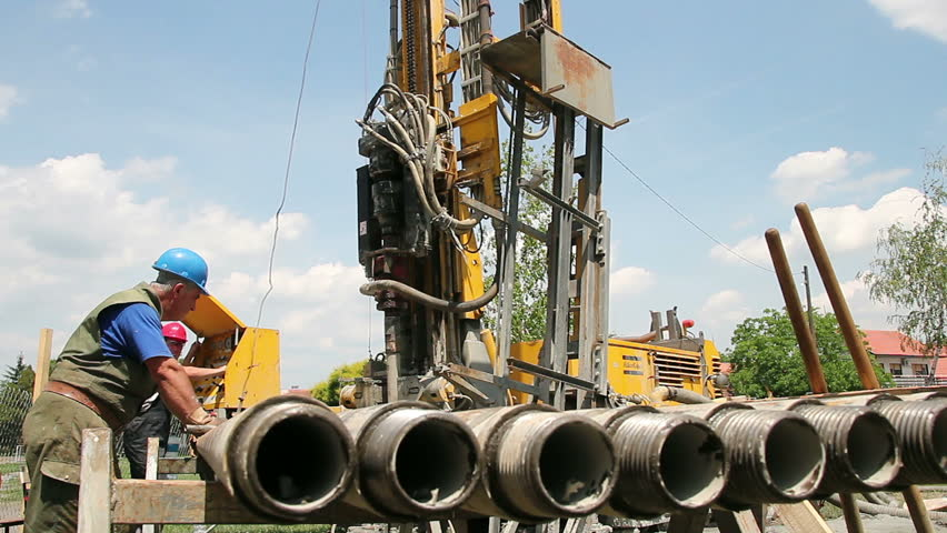 Working on a Drilling Rig. Petroleum Industry.  Oil and Gas Industry. Rig Technicians.