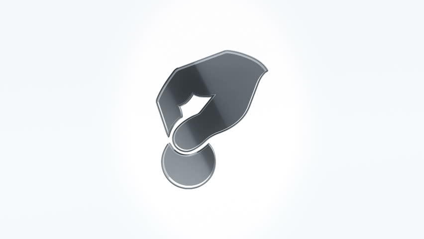 3D Animation rotation of symbol about finance, money and banking work. Animation of seamless loop.