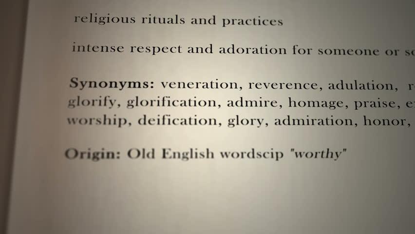 Worship Definition