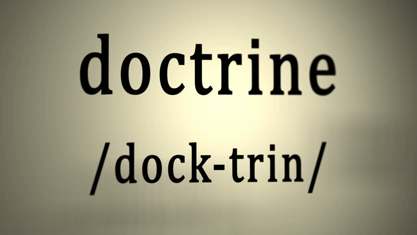 Header of doctrine