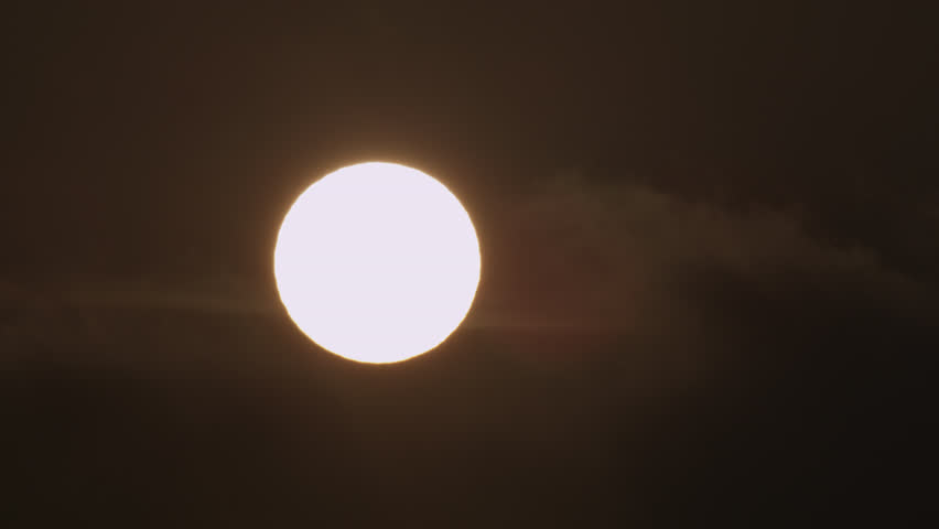 Sun in clouds sourced from Red Epic 5K