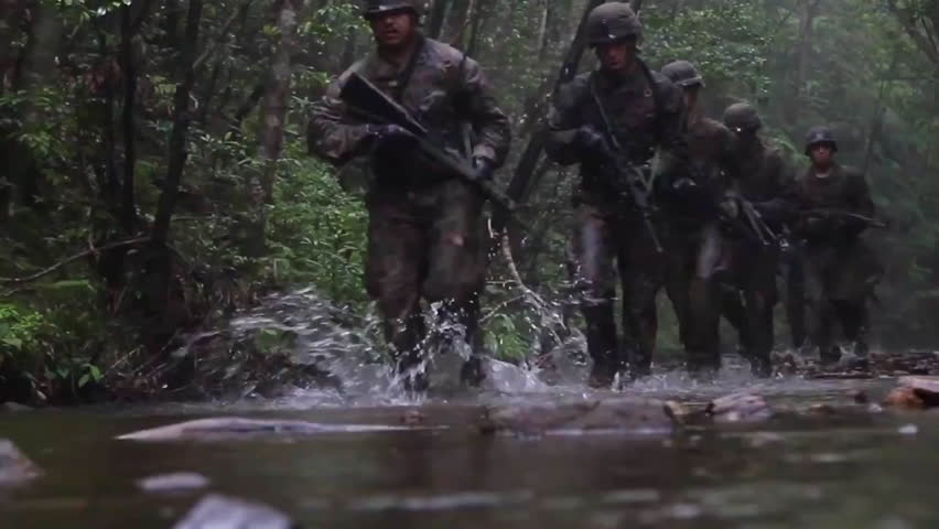 2010s: U.S. Army troops undergo extensive jungle warfare training.