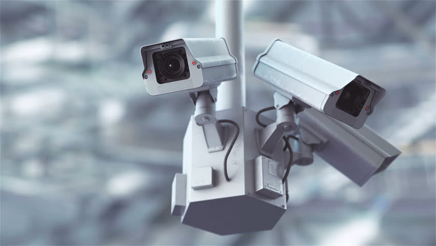 Security cameras scanning the street in 4K | Shutterstock HD Video #28318903