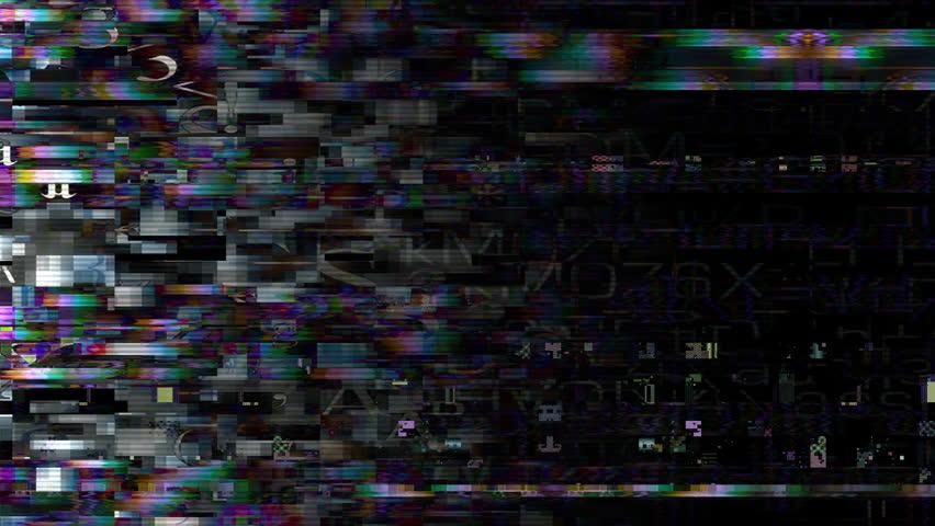 Data Glitch: Streaming data distortion (Loop). | Shutterstock HD Video #28331323