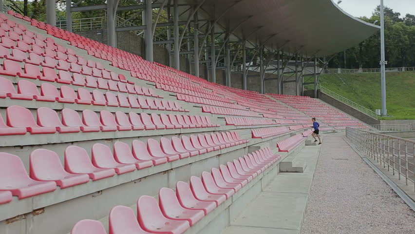 Woman feet jogging up stairs. Steadicam stabilized shot. Sportswoman wearing barefoot sports shoes while training on the stairs. | Shutterstock HD Video #28432963