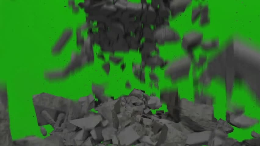 Destruction Falling Rocks Debris Close Stock Footage Video (100%  Royalty-free) 28563373 | Shutterstock