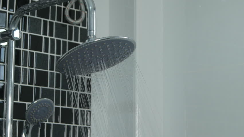 4k Of Water Drops In The Shower Head Stock Footage Video 28523161 ...
