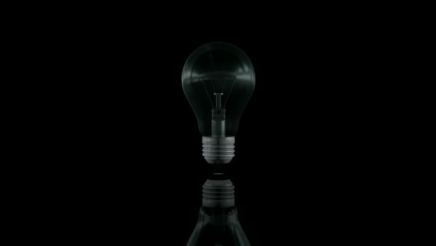 Let there be light - Light bulb  | Shutterstock HD Video #2860753