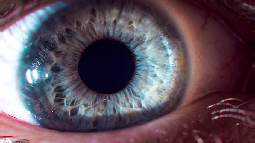 Eye Pupil Focusing Contracting Focusing Close Up Macro Shot Vision Impairment Healthy Lifestyle Eye Surgery Contact Lenses Concept