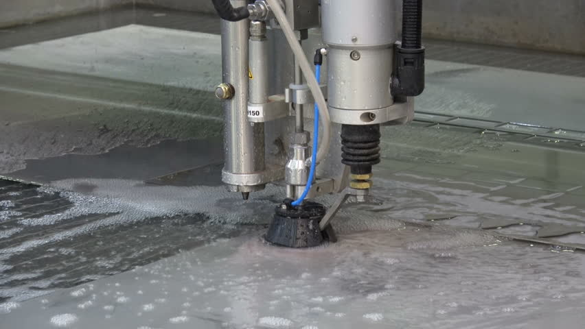 Water Jet Cutting Machine  Laser Stock Footage Video (100% Royalty-free)  28625923 | Shutterstock