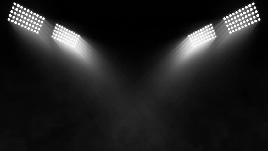 Stock Video Clip Of Stadium Lights Smoke Shutterstock