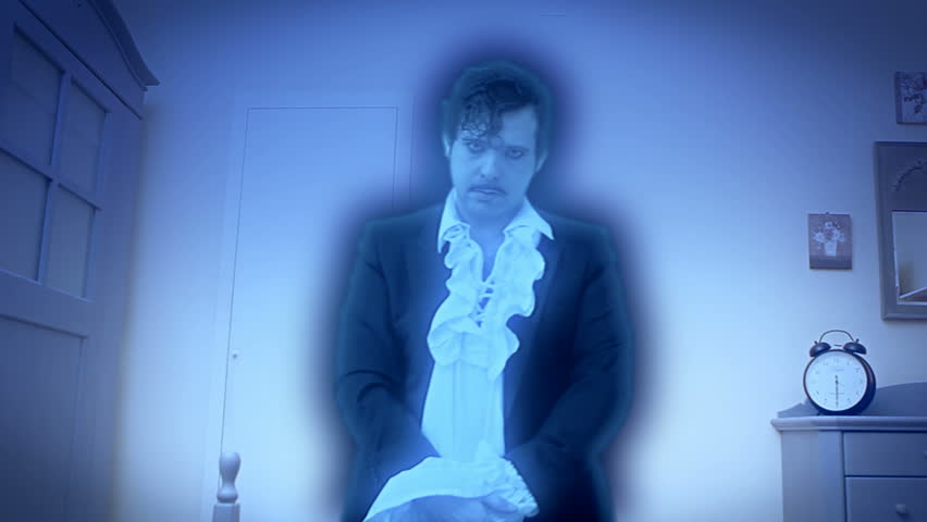 Halloween or horror: a dandy ghost of the future, inspired by Charles Dickens' tale A Christmas Carol. Different shots (backgrounds and colors).