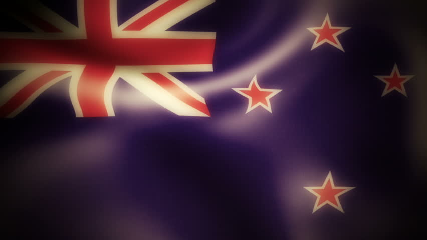 New Zealand An elegant animation of the Worlds flags, Using a 32bpc pipeline these are high quality animations. Ideal as backgrounds or as icon overlays on TV and the Web.  | Shutterstock HD Video #2885323