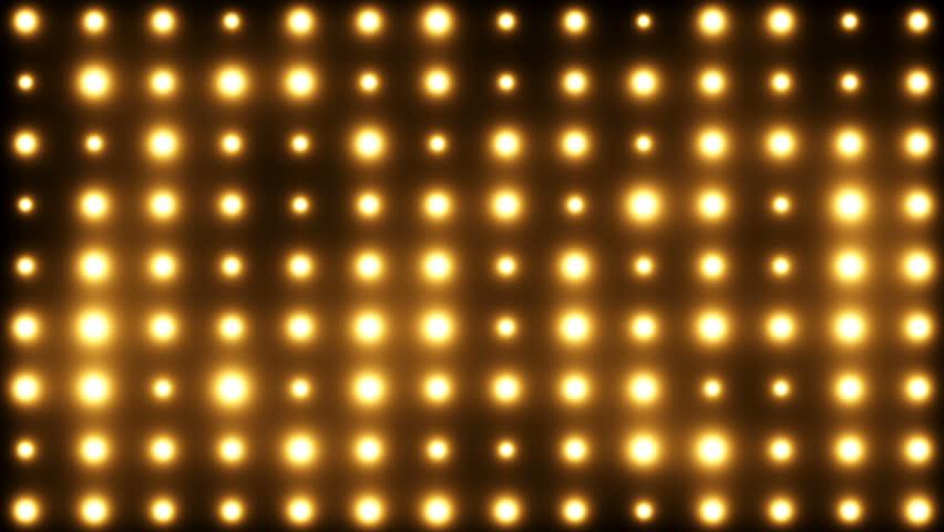 Bright Floodlights Flashing Vj Loop Background