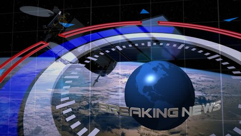 Background for breaking news v.2. Background for heading, name, title, logo, text...Elements of this image furnished by NASA.
