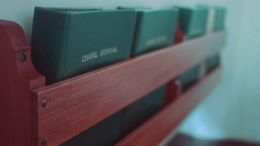 Header of hymnal