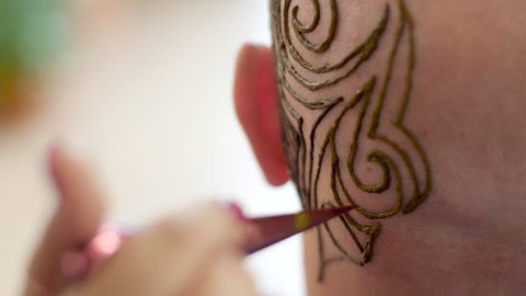 White Henna Stock Video Footage 4k And Hd Video Clips Shutterstock