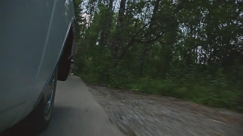 Car's wheels on the road. | Shutterstock HD Video #29144053