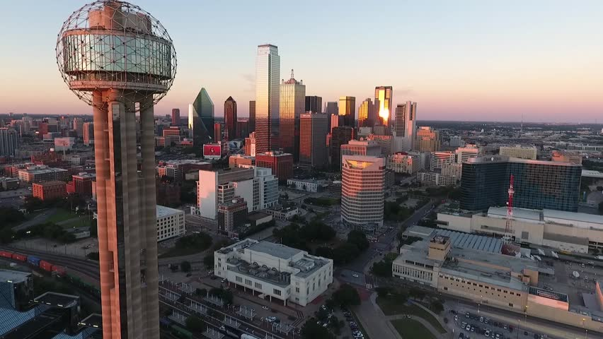 Downtown Dallas with Reunion Tower