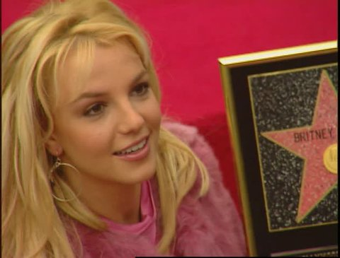 Hollywood, CA - NOVEMBER 17, 2003: walks the red carpet at the Britney Spears Star on the Hollywood Walk of Fame held at the Hollywood Walk of Fame