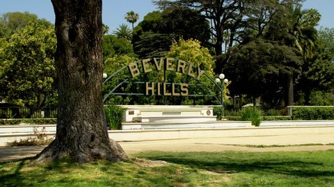The Beverly Hills Sign