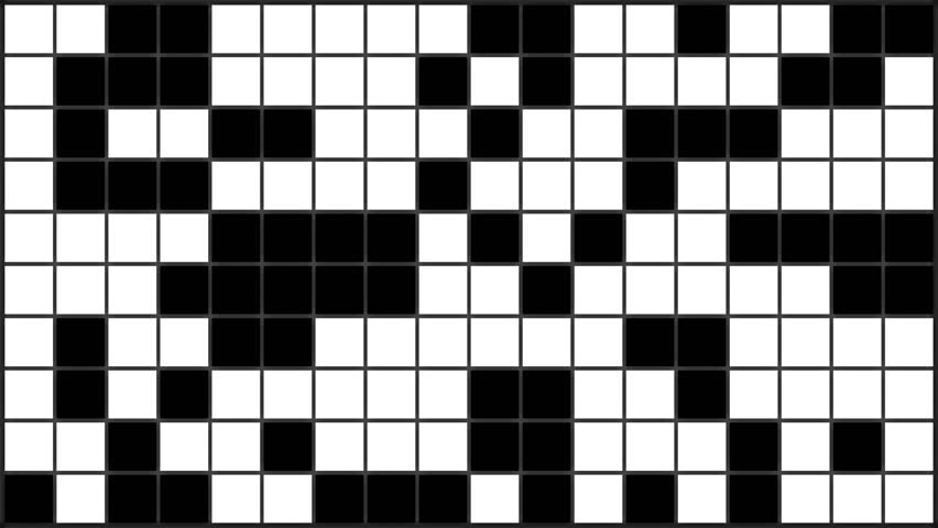Black and white flashing chequered squares - dance floor element | Shutterstock HD Video #29328985