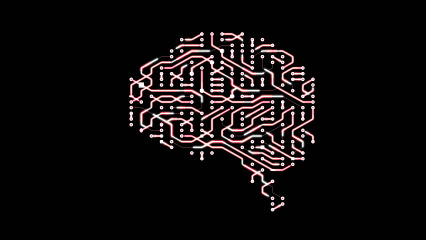 Seamless looping animation of a brain circuit board. 16-Bit. 4K UHD.  | Shutterstock HD Video #29492113