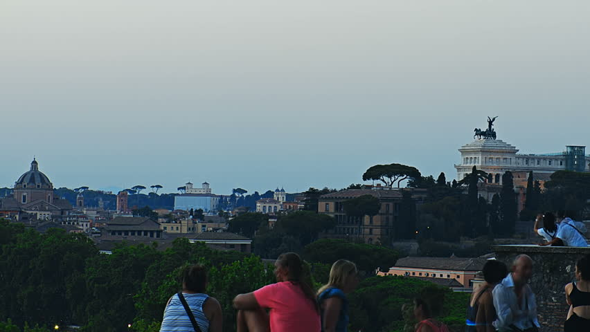 Roma Vista Dal Colle Aventino Stock Footage Video 100 Royalty Free 29547613 Shutterstock