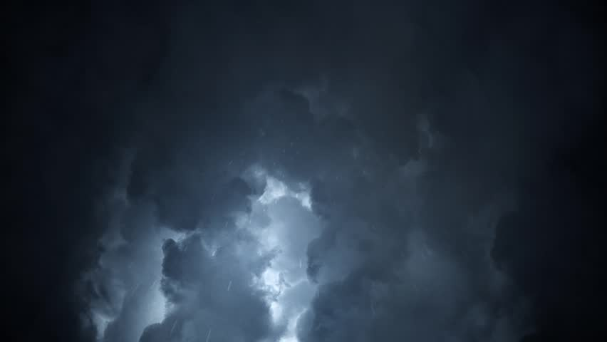 Rain Drops Falling off a Heavy Stormy Sky | Shutterstock HD Video #29558113