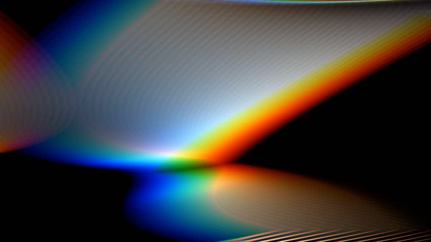 Prism Light Dispersion Seamless Loop Hd1080p Stock
