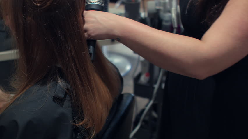 Red Head Woman At Salon Stock Footage Video 100 Royalty Free