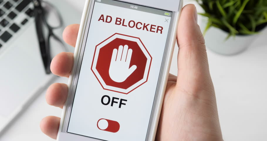 Turning on ad blocker for surfing web without ads