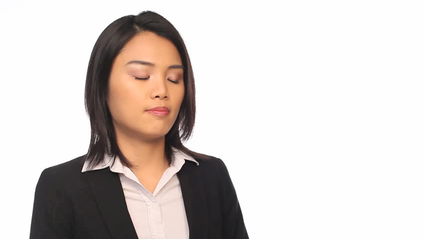 Asian businesswoman of the