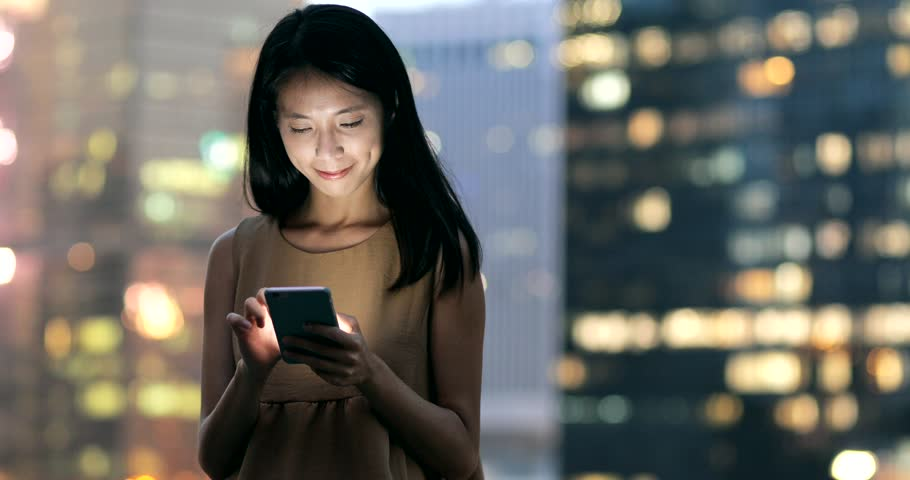 Businesswoman use of mobile phone  | Shutterstock HD Video #30295663