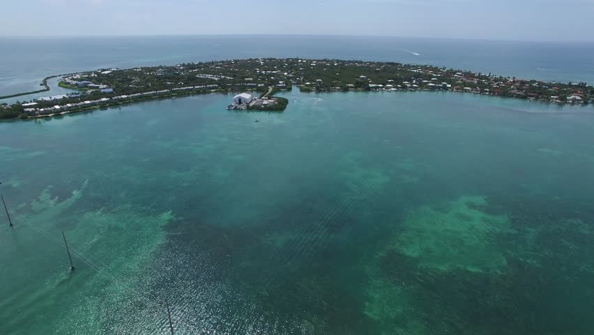 This is an aerial video around Duck Key in the Florida Keys. | Shutterstock HD Video #30305719