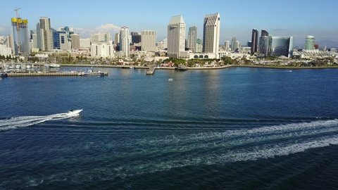 San Diego Downtown - Drone Video Aerial Video of Downtown San Diego, also referred to as Centre City, is the city center of San Diego, California, the eighth largest city in the United States.