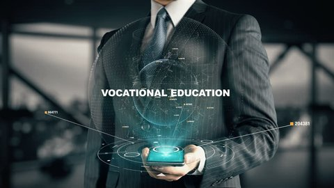 Businessman with Vocational Education