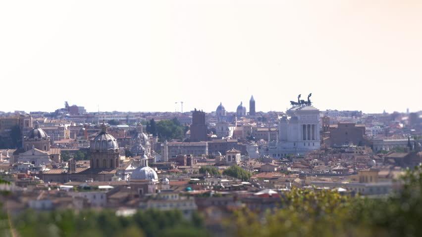 Roma Panorama Panoramica Piazza Venezia Stock Footage Video 100 Royalty Free 30357823 Shutterstock