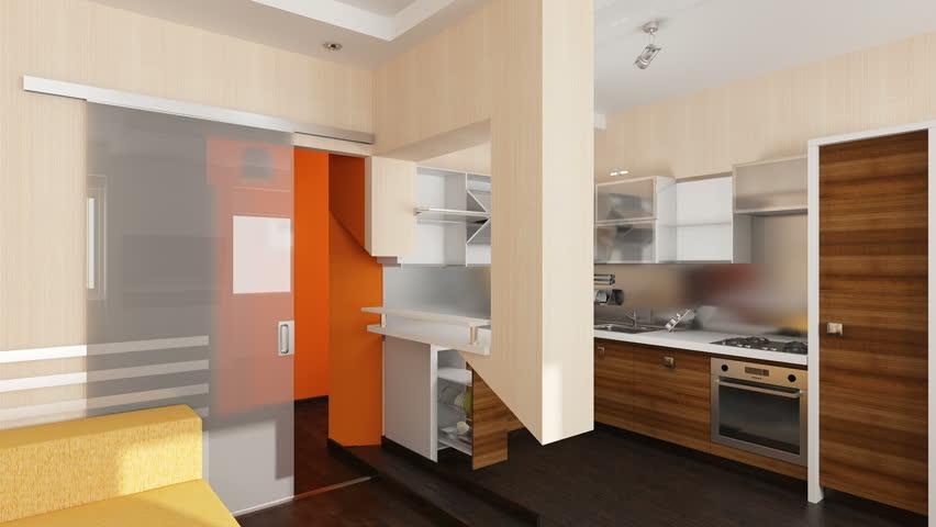 Interior creation  | Shutterstock HD Video #3047587