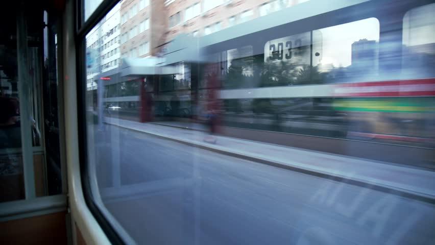 Urban transport, urban transportation public transport, city transport, municipal transport, city transportation   Shutterstock HD Video #30489763