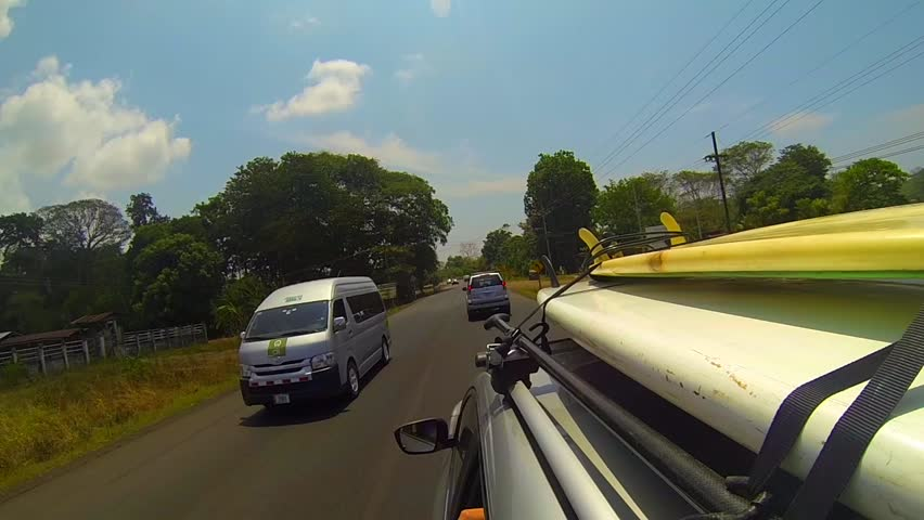 Ride To The Beach With Surfboard And Paddleboard